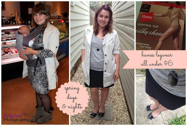 Hanes Legwear: Affordable, sleek and perfect for spring!