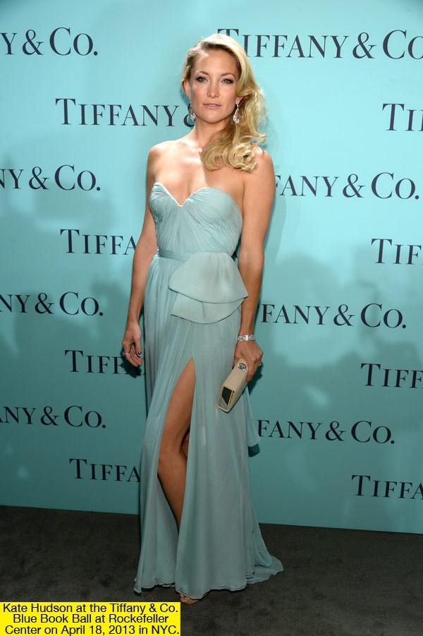 Kate Hudson Tiffany Blue Book Ball, Tiffany blue book 2013, celebrity jewelry
