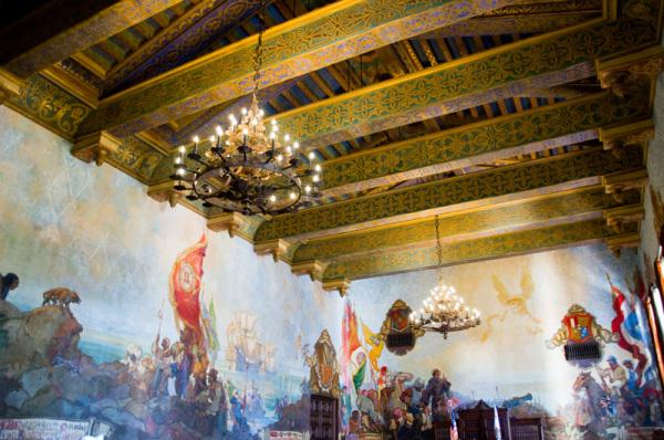 Taxpayer dollars at work paperblog for Mural room santa barbara courthouse