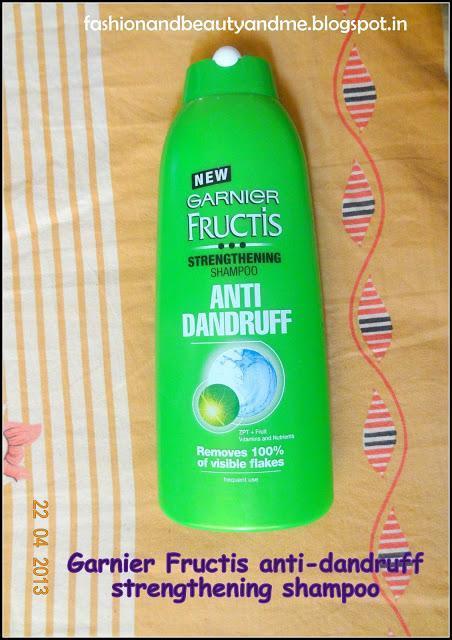 Garnier fructis anti dandruff strengthening shampoo