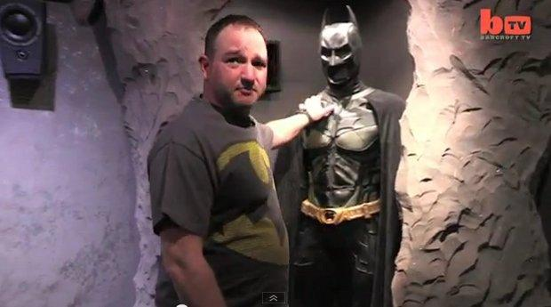 batman is real man builds a real life batcave paperblog