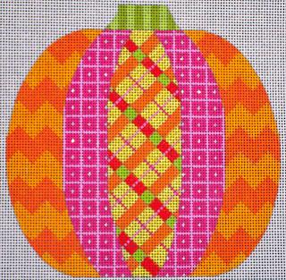 From the Crazy Patch-- Plaid Pumpkin!
