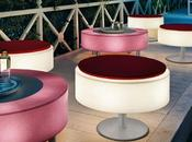 Outdoor Decorating With Illuminated Furniture