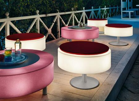 decor LED furniture8 Outdoor Decorating With Illuminated Furniture HomeSpirations