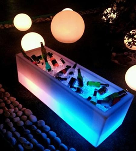 decor LED furniture2 Outdoor Decorating With Illuminated Furniture  HomeSpirations