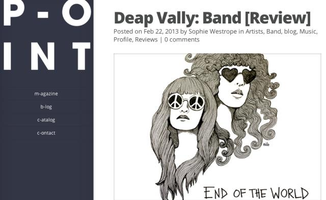 point deap vally