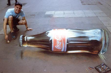 coke optical illusions