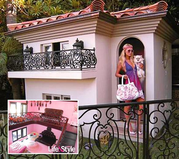 The lavish $325,000 super dog mansion to house Paris Hilton's 6