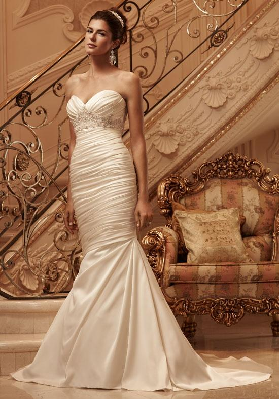 ... For > Wedding Dresses Sweetheart Neckline Mermaid Style With Bling