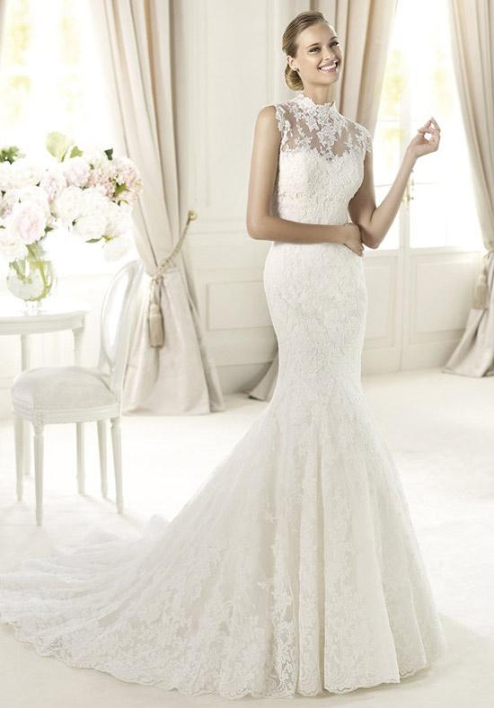 Wedding dresses: wedding dress mermaid cut