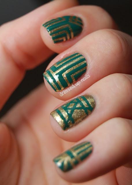 Nail Trend Alert Art Deco Manis Paperblog