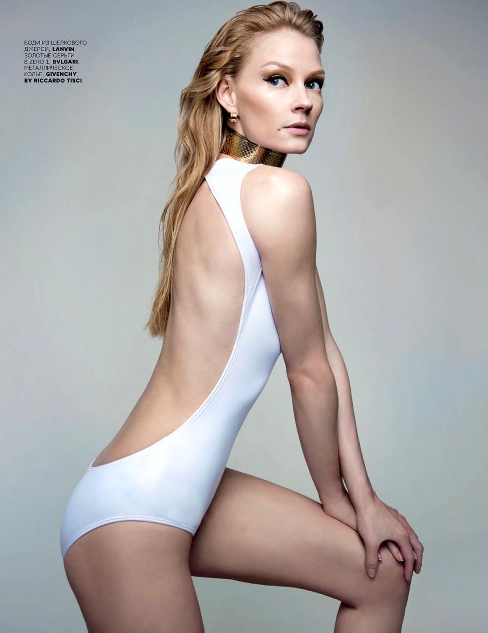 Svetlana Khodchenkova By Danil Golovkin For Vogue Russia