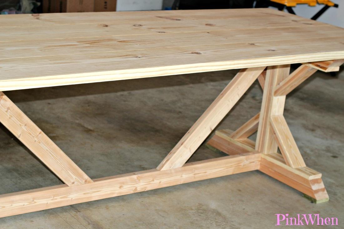 Farmhouse Table Build Part 2 Paperblog
