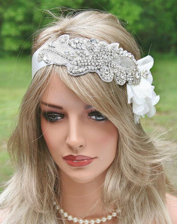 vintage glam rhinestone wedding headpiece now available at