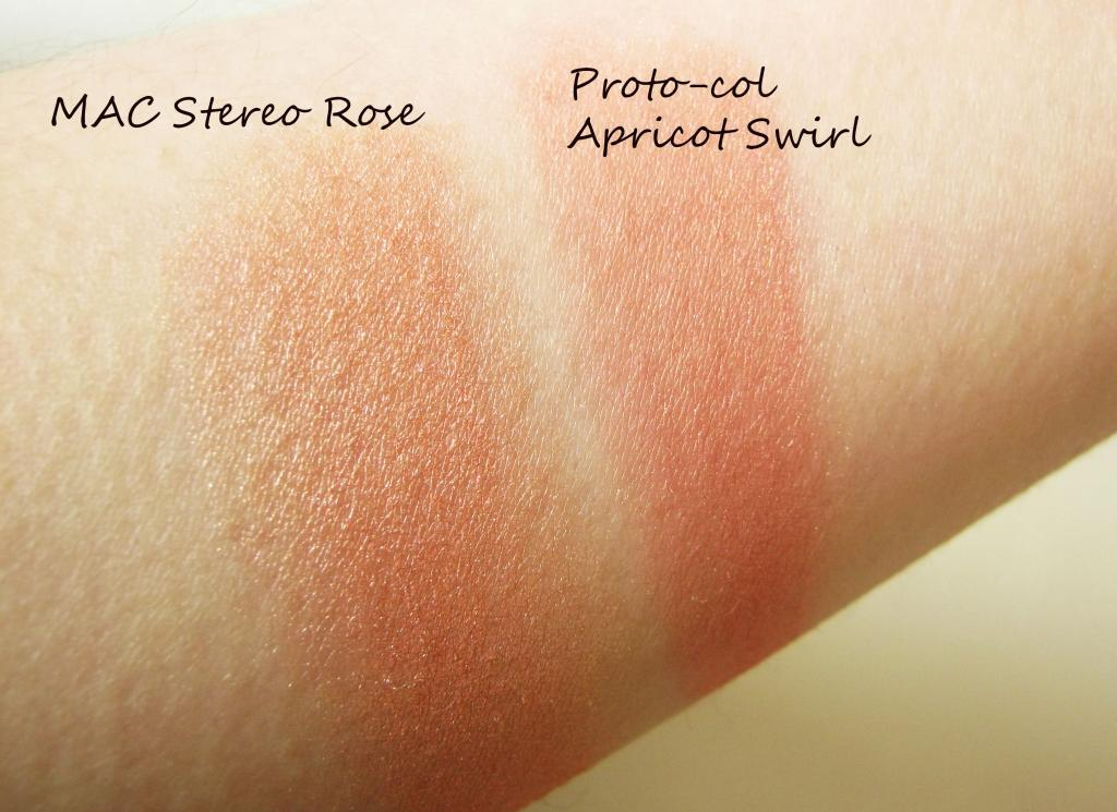 Proto-col Baked Shimmer in Apricot Swirl - Stereo Rose Dupe ...