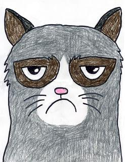 How to Draw Grumpy Cat - Paperblog