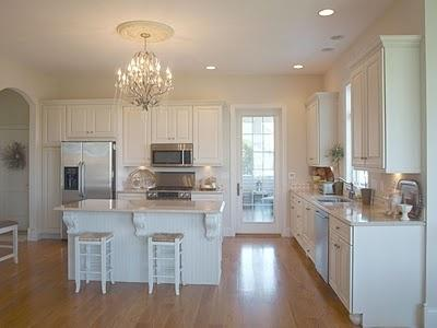 Via Pinterest Crystal Chandeliers In Kitchens