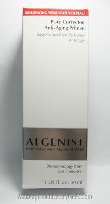 Algenist Pore Corrector Anti-Aging Primer and Mixed Mirenesse Cosmetics Review