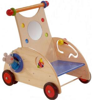 Toy Tuesday Eco Friendly Wooden Baby Walkers Paperblog