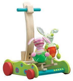 Toy Tuesday: Eco-Friendly Wooden Baby Walkers