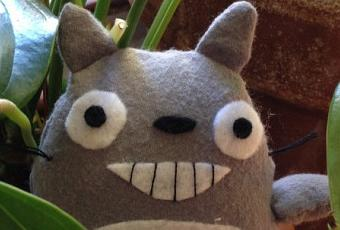 Easy DIY: Totoro Plush - Paperblog
