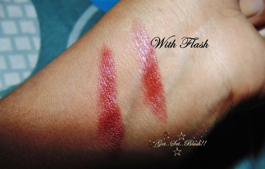 Colorbar Velvette Matte Lipstick in Love that Rust-Review,Swatch,On my lips