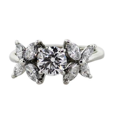 tiffany engagement ring, tiffany victoria collection, tiffany flower ring