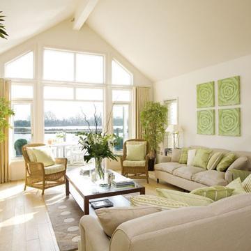 decor monochromatic living room1 Design Quote To Inspire You HomeSpirations
