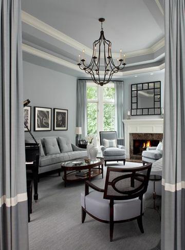 decor monochromatic living room11 Design Quote To Inspire You HomeSpirations