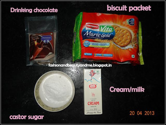 HOW TO: No bake cake with biscuits !!!