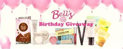 Happy Birthday Yessy and Bell's Etude House!!