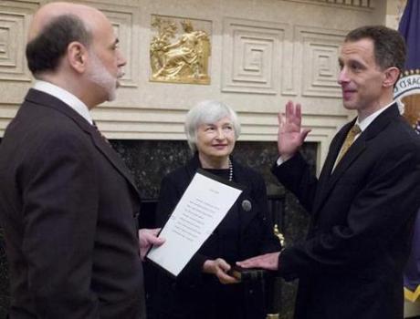 Jeremy Stein sworn in
