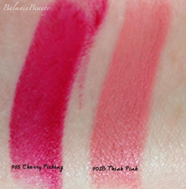 wet n wild think pink and cherry picking lipsticks