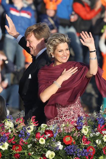 Queen Maxima Water Pageant Gown by Jan Taminiau