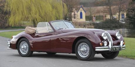 1955 Jaguar XK140 Drophead Coupe photo 1955JaguarXK140DropheadCoupe_zps0da2f79b.jpg
