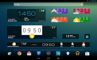 Beautiful Widgets available for free on Google Play Store