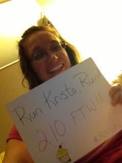 #RunVan Cheering on my Runner Girls in Van!!!