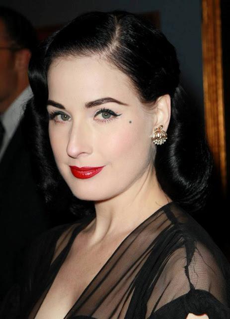 Dita von teese interview dita von teese favorite makeup.