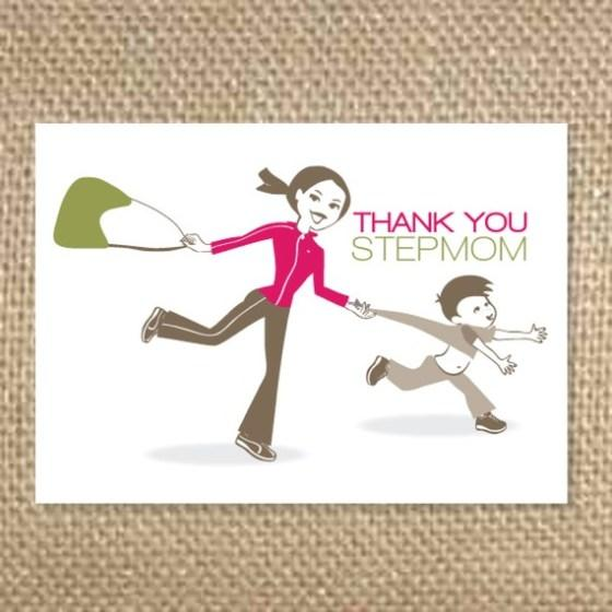 Thank you from mom to stepmom