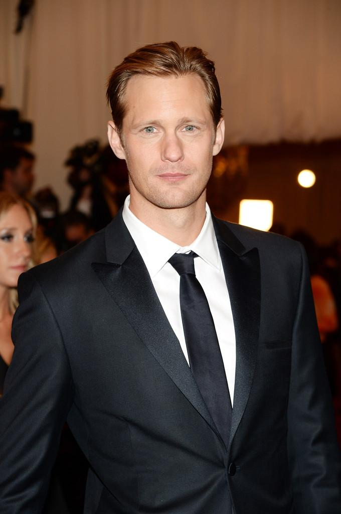 Alexander Skarsgard Costume Institute Gala for the PUNK Chaos to Couture Gala Dimitros Kambouris Getty 3