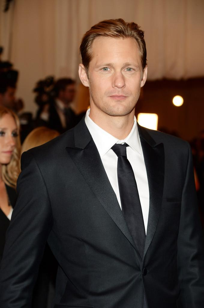 Alexander Skarsgard Costume Institute Gala for the PUNK Chaos to Couture Gala Dimitros Kambouris Getty 5