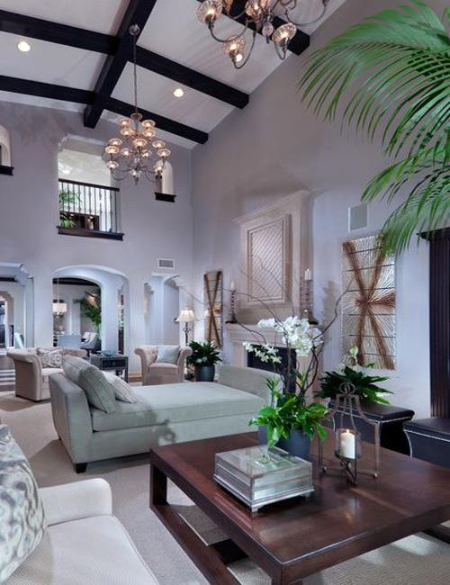 decor high ceiling design4 Decorating Your Home With High Ceilings HomeSpirations
