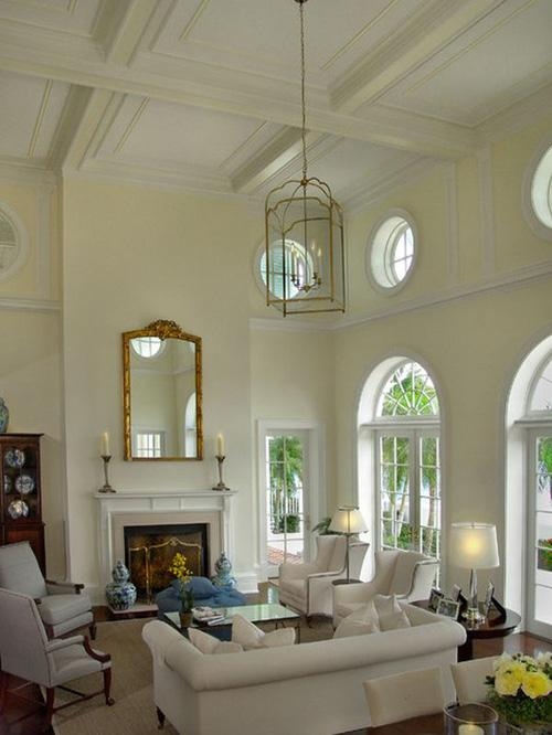 Decorating your home with high ceilings paperblog for Art for high ceilings