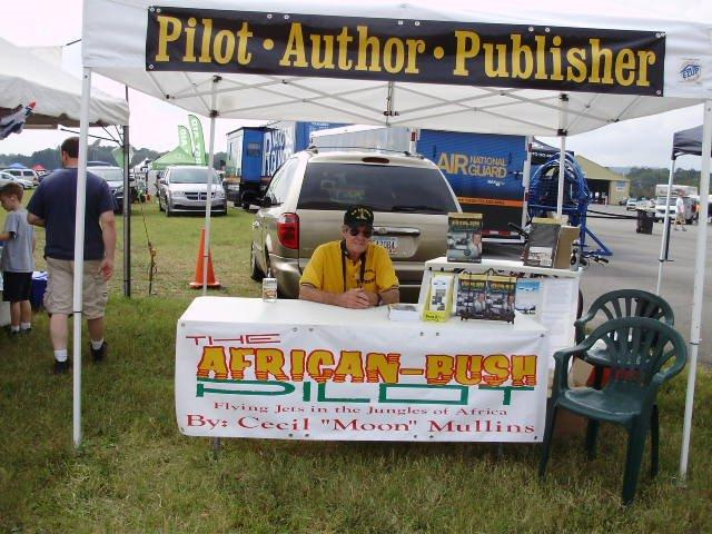 Share Your Story Cecil Mullins Author B707 African Bush