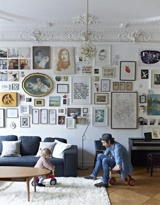 inspiration board gallery wall paperblog. Black Bedroom Furniture Sets. Home Design Ideas