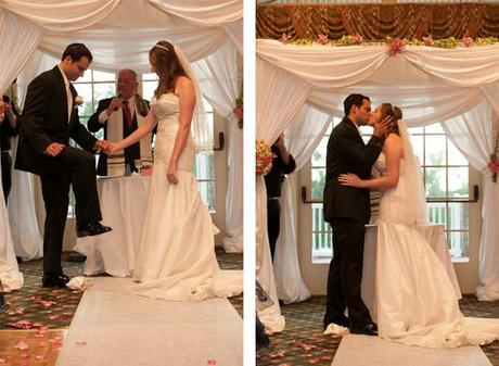jewish wedding traditions, wedding traditions explained, breaking of the glass
