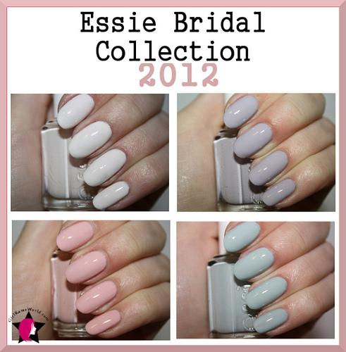 essie wedding collection bridal bliss beauty
