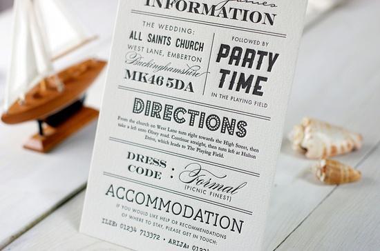 Wedding Invitation Etiquette Paperblog