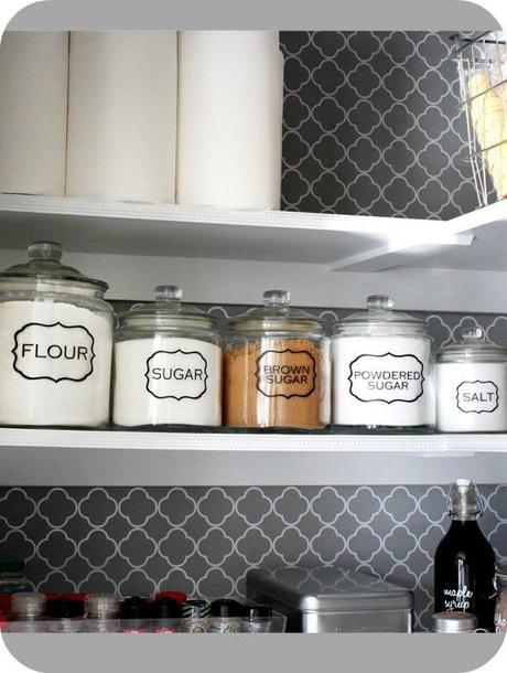 Image of Pantry Jar Labels (set of 5)