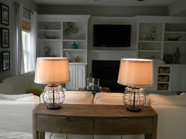 Pottery Barn Knock Off Lamps